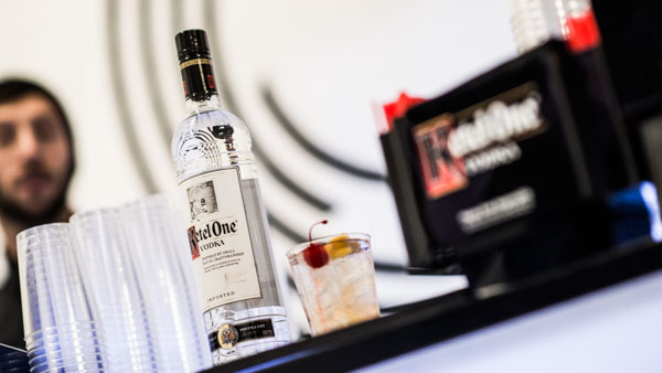 Ketel One vodka, Caeden's sponsor for the launch event