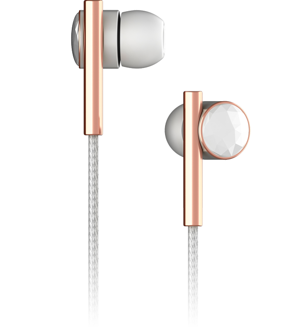 Linea Nº2 - Faceted Ceramic & Rose Gold - Mic-3 - View
